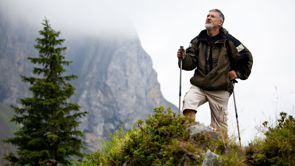 Downtown's Healthcare – Web Media – Man Hiking 1