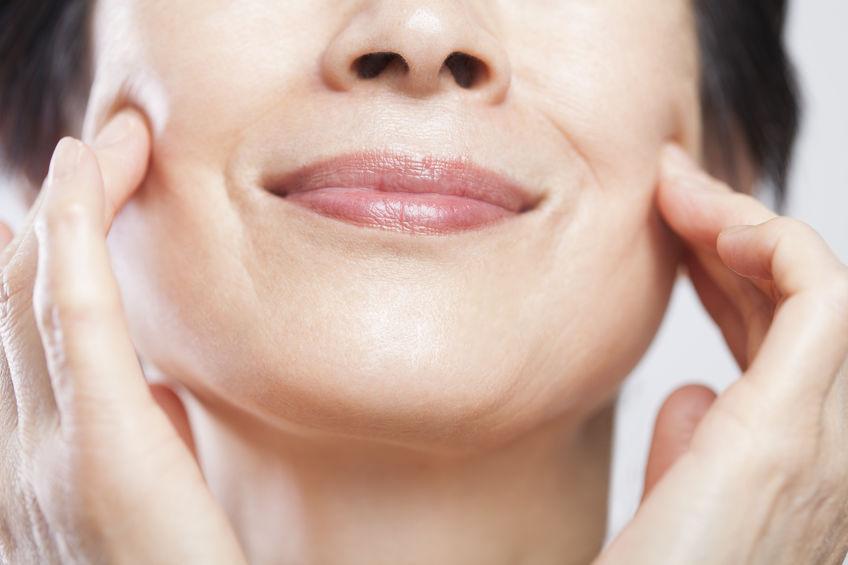 vampire facial Denver improves skin tone